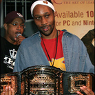 "The RZA wins the championship belt for the Hip-Hop Chess Federation's tournament last year. Chess is ""the only thing that really relaxes me,"" he says."