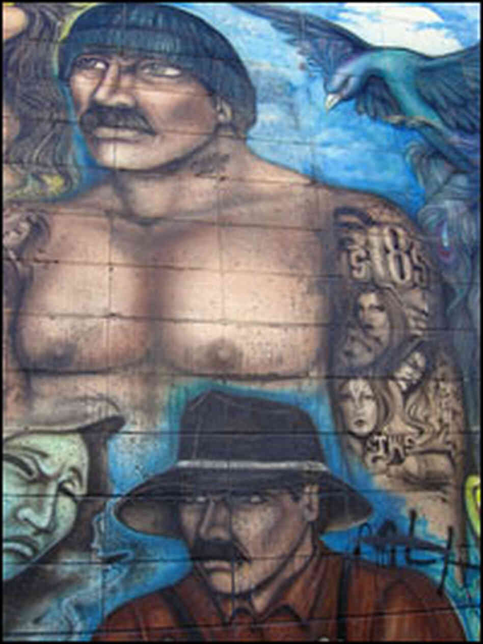 Feds aim to dismantle l a 39 s 18th street gang npr for 18th street gang mural