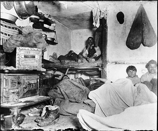 the situation of new york citys immigrants shown in how the other half lives by jacob riis Introduced me to jacob riis and how the other half lives with and disengaging himself from the new immigrants to report the story, riis had to engage with the immigrants than to call attention to the horrendous living conditions of the poor in new york city.
