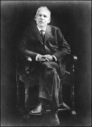 Jacob Riis, circa 1900.