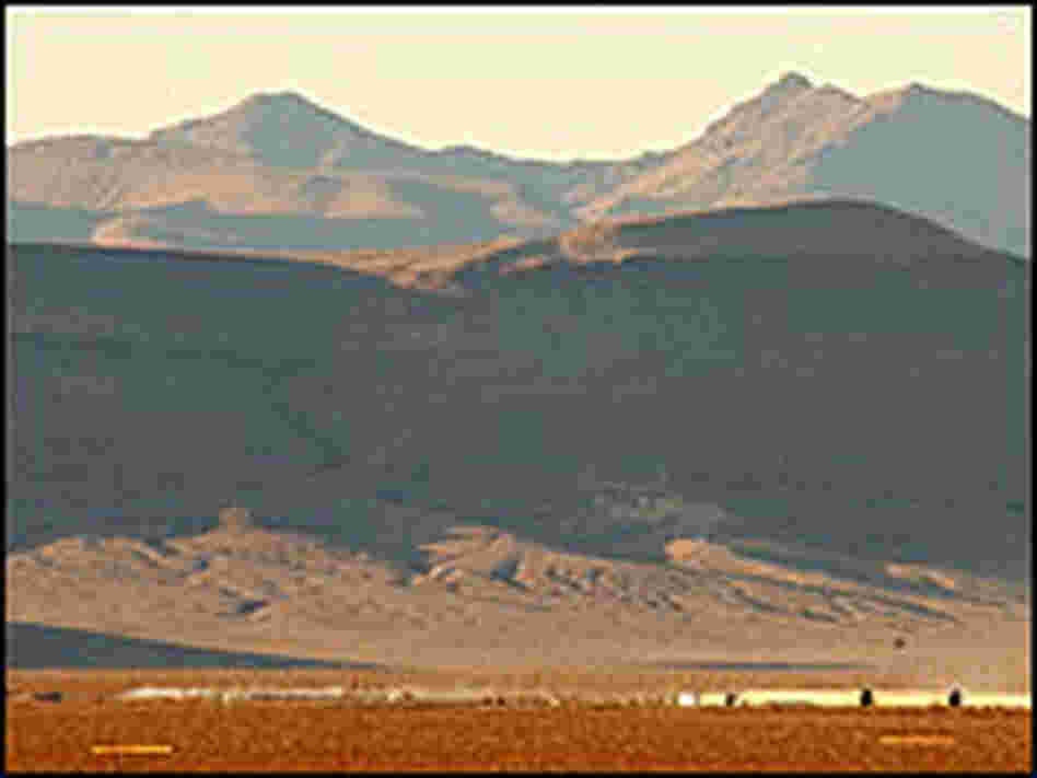 The proposed nuclear waste repository of Yucca Mountain