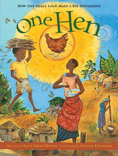 "Cover of ""One Hen"""
