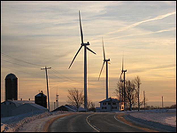 Lewis County, N.Y., is home to the Maple Ridge Wind Farm, which has transformed the look and sound of the rural landscape.