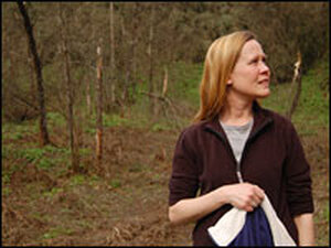 Sarah Bexell, the director of conservation education at the panda base