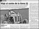 'Juventud' article on agriculture