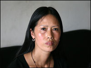 For seven years, Lei Mingfen and some of her neighbors resisted plans to pave over and build high-rise apartments in their rural village on the outskirts of Chengdu, China. She took her protest to Beijing — and was imprisoned for 80 days.