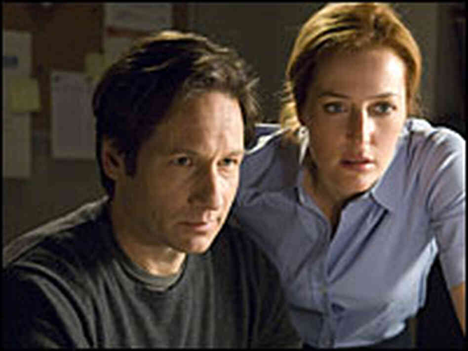 David Duchovny and Gillian Anderson in 'The X-Files: I Want to Believe'
