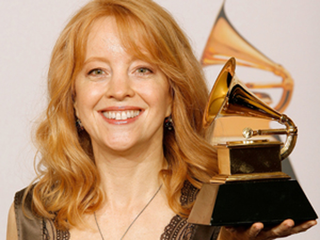 Maria Schneider's 2007 album <em>Sky Blue</em> won a Grammy Award despite never being sold in stores.