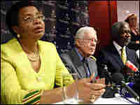 Graca Machel, Jimmy Carter and Kofi Annan