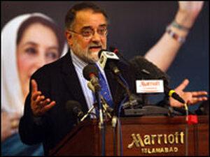 Pakistani journalist Ahmed Rashid.