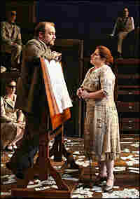 Alexander Gemignani, Anne L. Nathan, Orville Mendoza, and Claybourne Elder with the company