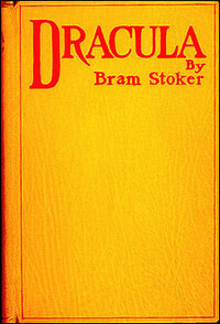 Cover of the first edition of Bram Stoker's 'Dracula.'