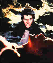 Frank Langella on a poster for the 1979 movie 'Dracula.'