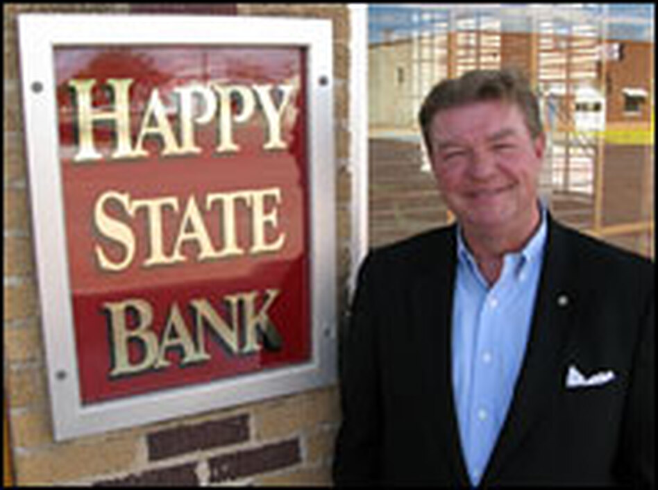 Pat Hickman, CEO of the Happy State Bank in Happy, Texas, says the reckless loan practices of 20 years ago has made him a more conservative — and better — banker today.