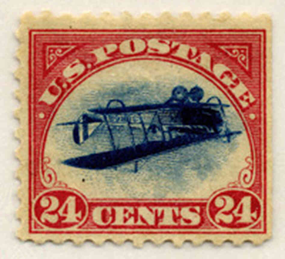 'Inverted Jenny' Stamp On Auction Block : NPR