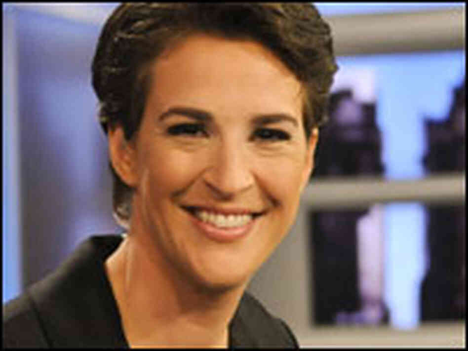 Rachel Maddow: Sassy, Acerbic And — Yes — Liberal : NPR