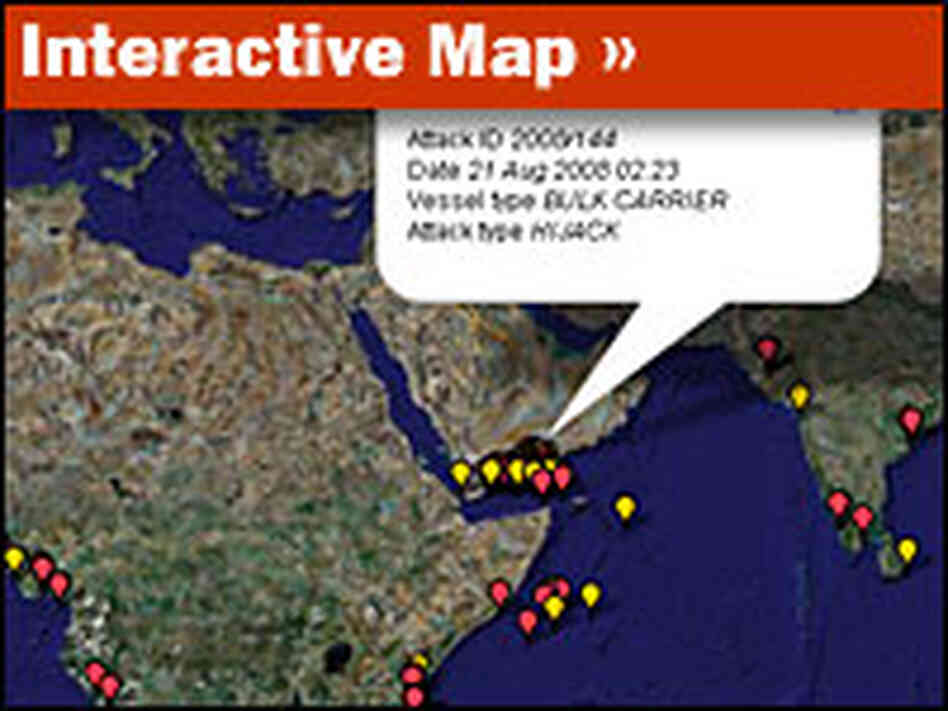 Interactive Map: Piracy