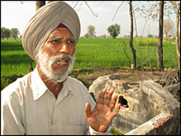 Farmer Jarnail Singh helped spur research into whether the Green Revolution — a movement in the 1960s and '70s to introduce American farming methods such as the use of pesticides, fertilizers and high-yield seeds — has been hurting the public's health. The first clue Singh noticed was that peacocks — India's national bird — disappeared from the fields.