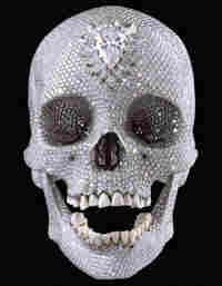 Skull with Diamonds