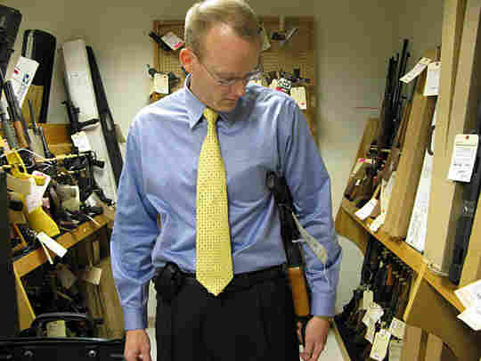 Bill Newell shows how to conceal an AK-47