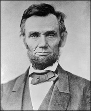 President Lincoln 11 days before the Gettysburg Address.
