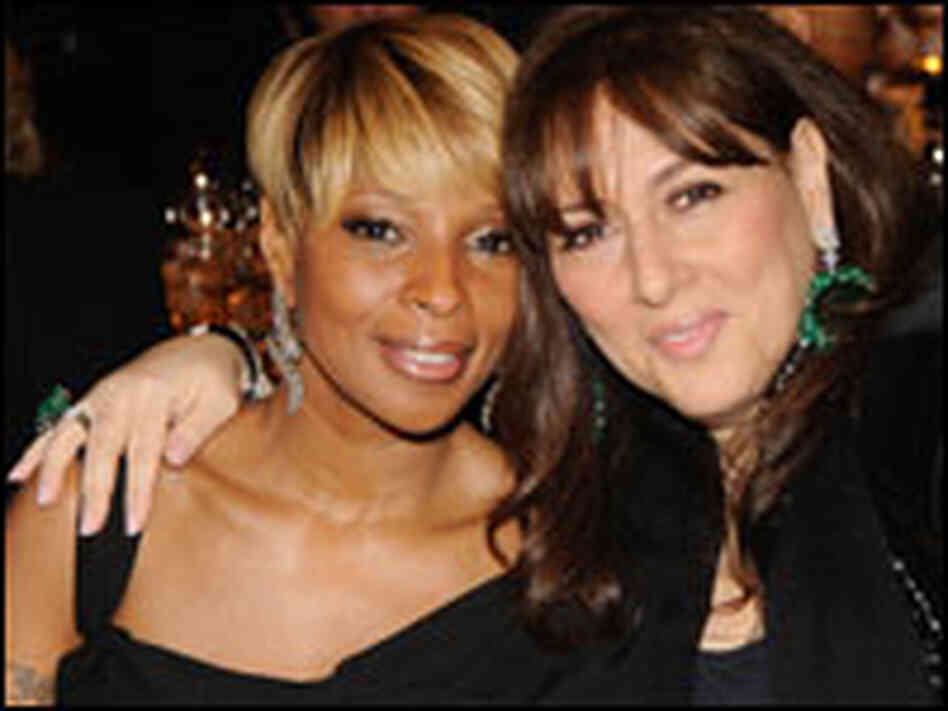 Mary J. Blige and  Lorraine Schwartz