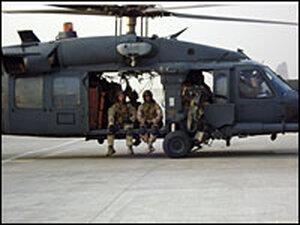 Pave Hawk crew returning to Bagram Air Base
