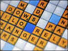 Online Scrabble game