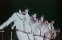 The Osmonds onstage
