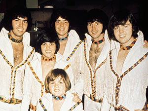 The Osmonds, minus Marie, circa 1970.