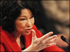 U.S. Supreme Court nominee Sonia Sotomayor