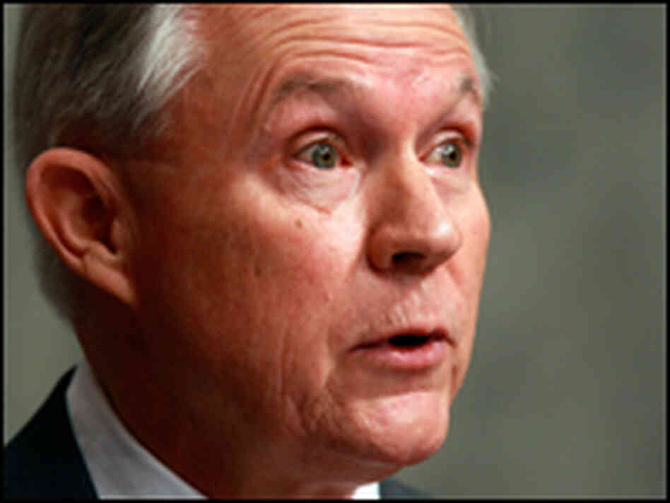 Ranking Republican Sen. Jeff Sessions (R-AL)