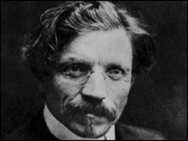 Born to a poor Jewish family in imperial Russia, Sholem Rabinovich — also known as Sholem Aleichem — was a champion of the Yiddish language. His stories were adapted into the Broadway musical <em>Fiddler on the Roof.</em>