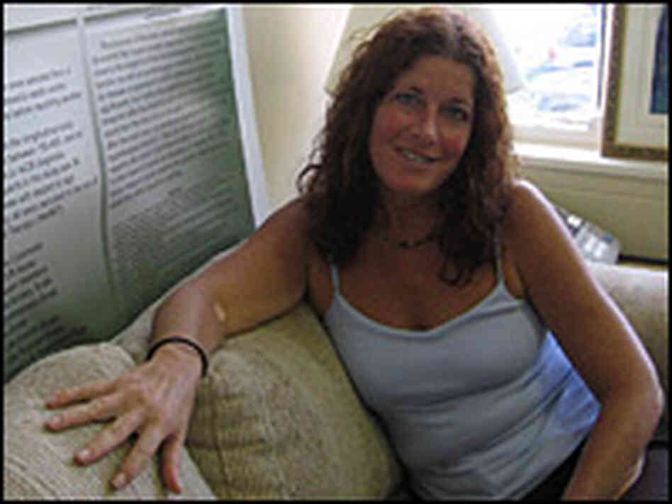 Sheri Kaplan tested positive for HIV more than 15 years ago.