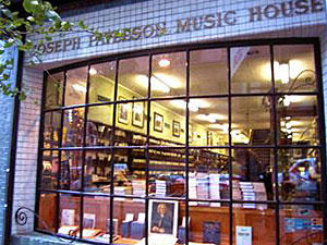 historic nyc sheet music store to close npr. Black Bedroom Furniture Sets. Home Design Ideas