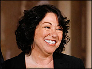 Judge Sonia Sotomayor