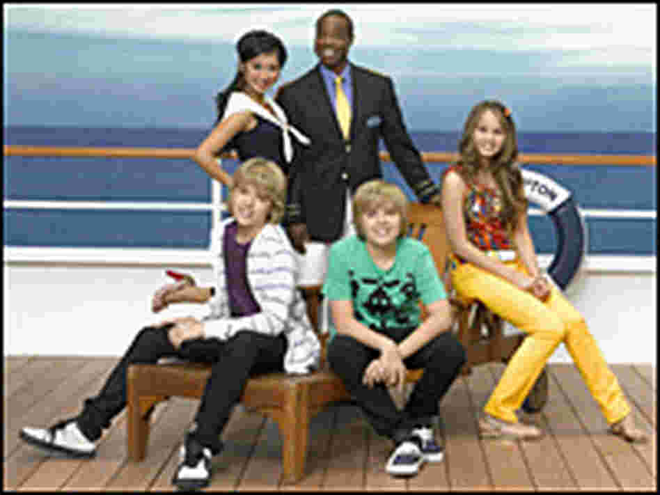 The cast of 'The Suite Life on Deck'