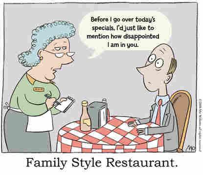 Family style restaurant