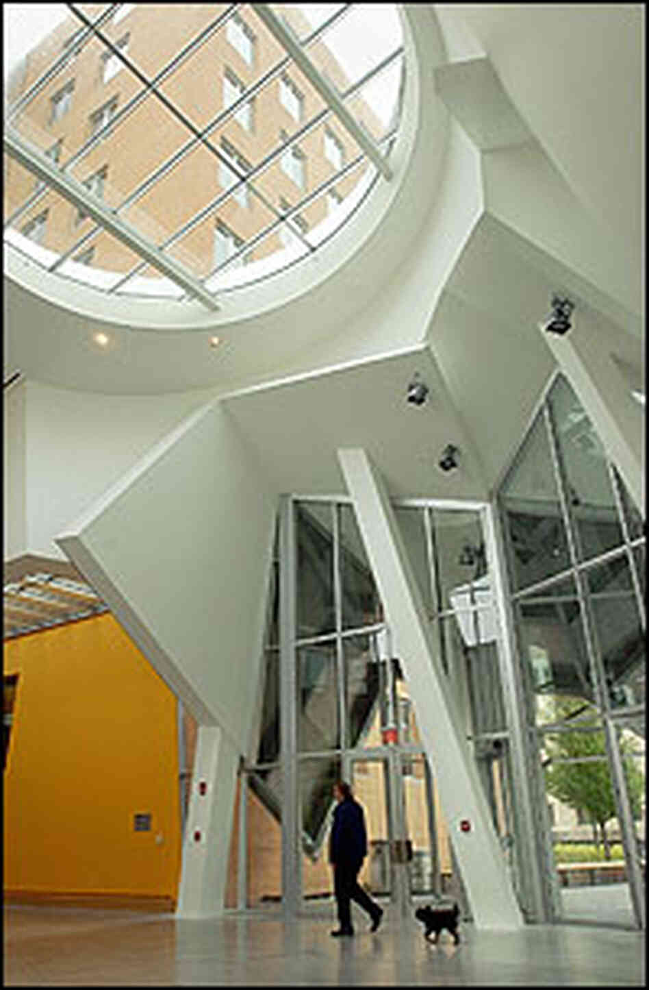 M I T Sues Gehry For Leaky Building Npr