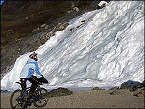 Jill Homer on Her Bike