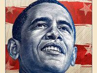Posters Show Obama As Superhero Sun God Saint Npr