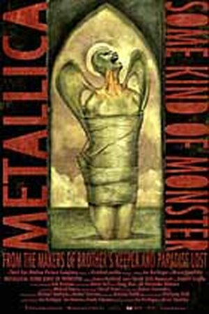 Poster for the Metallica rockumentary 'Some Kind of Monster'