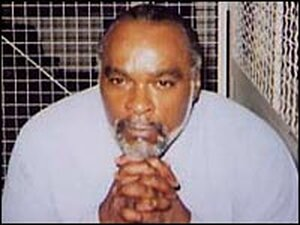 Stanely 'Tookie' Williams in San Quentin.
