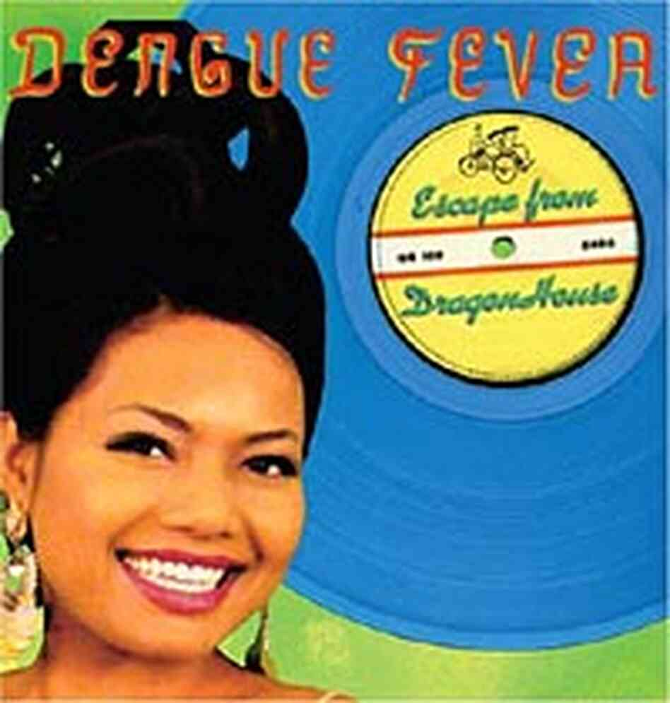 Cover of Dengue Fever's sophomore CD, 'Escape from Dragon House'