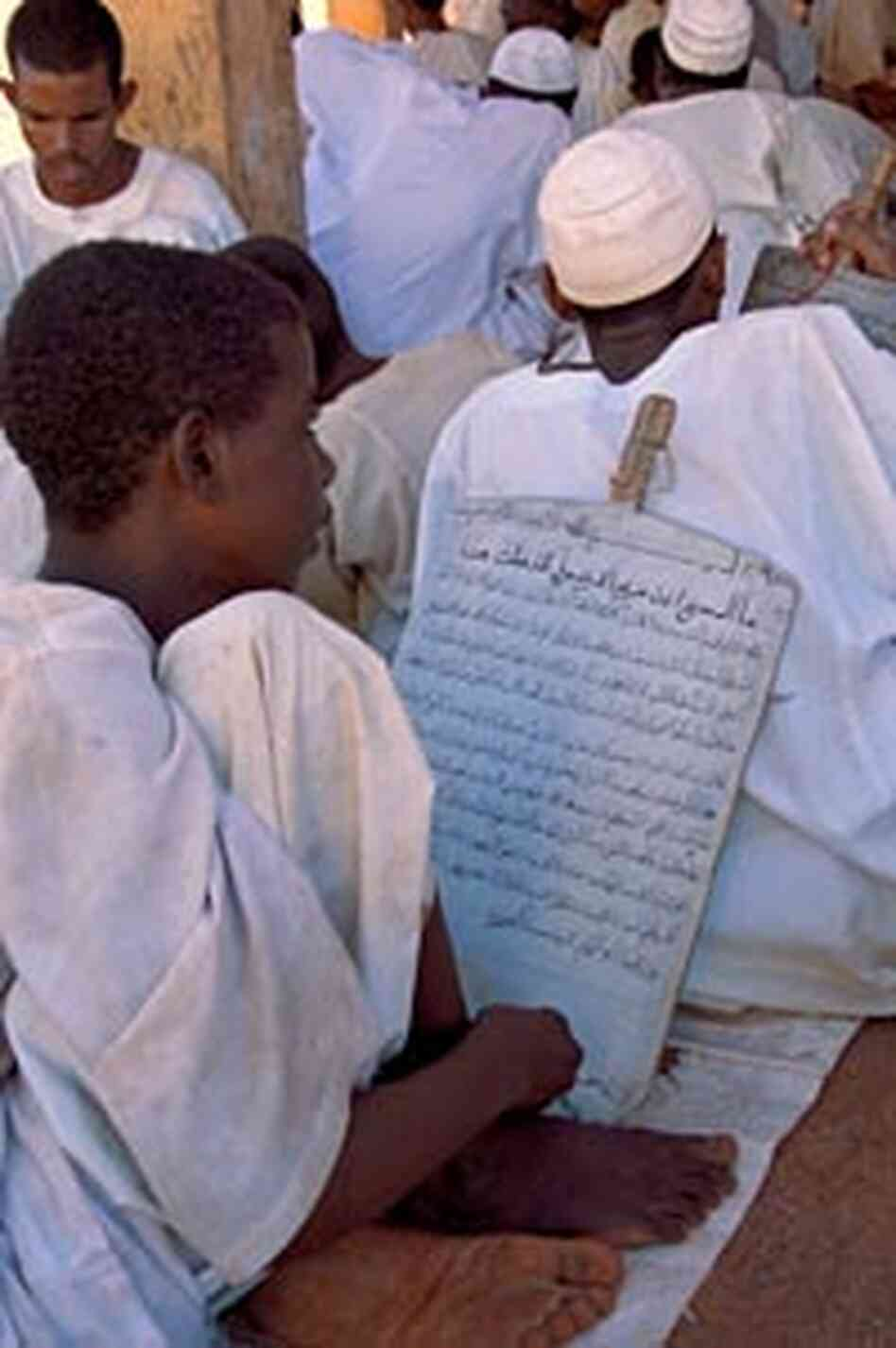 'Studies at a Khalwa, or Qur'anic School'