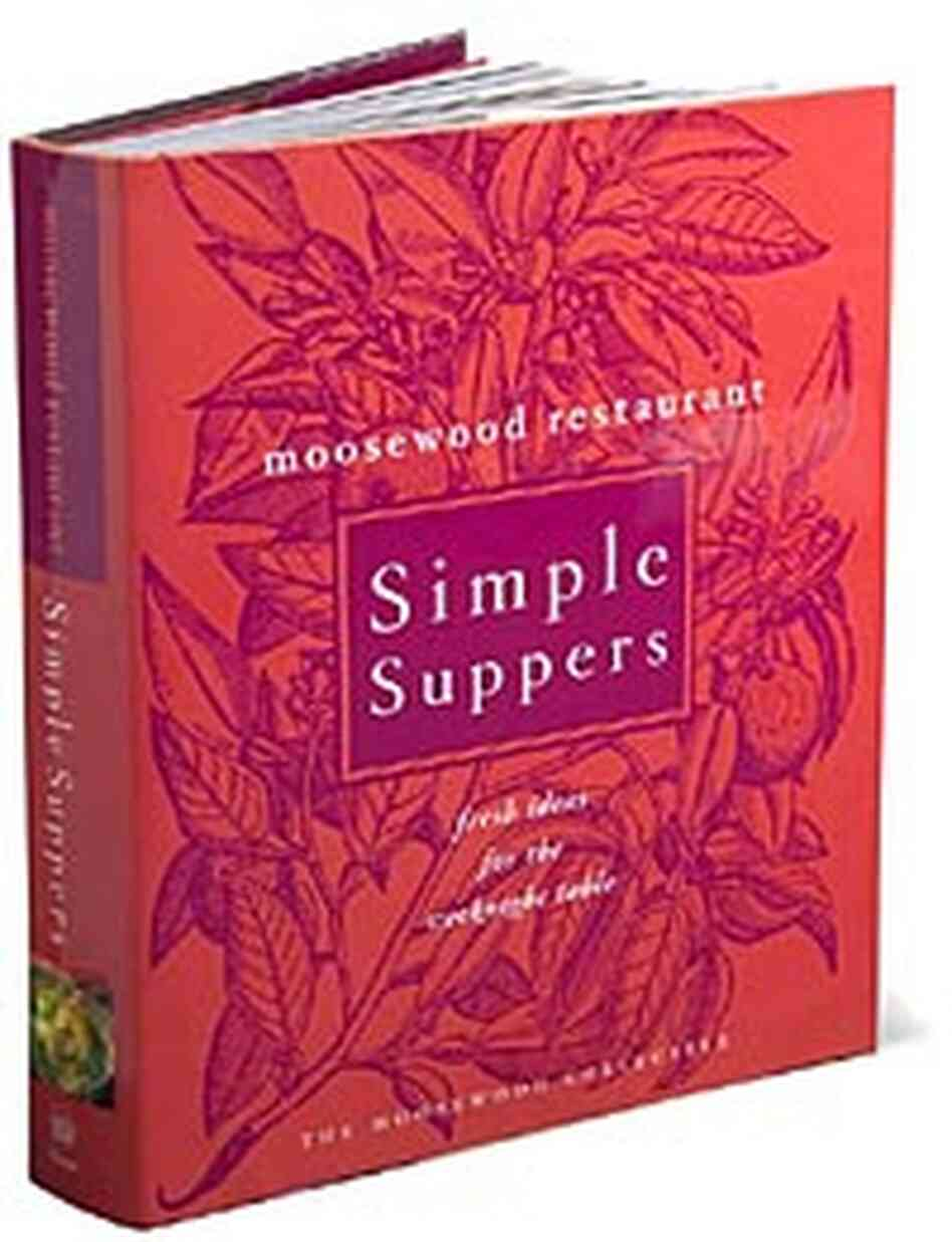 Cover for the 11th cookbook by the Moosewood Collective, 'Simple Suppers'