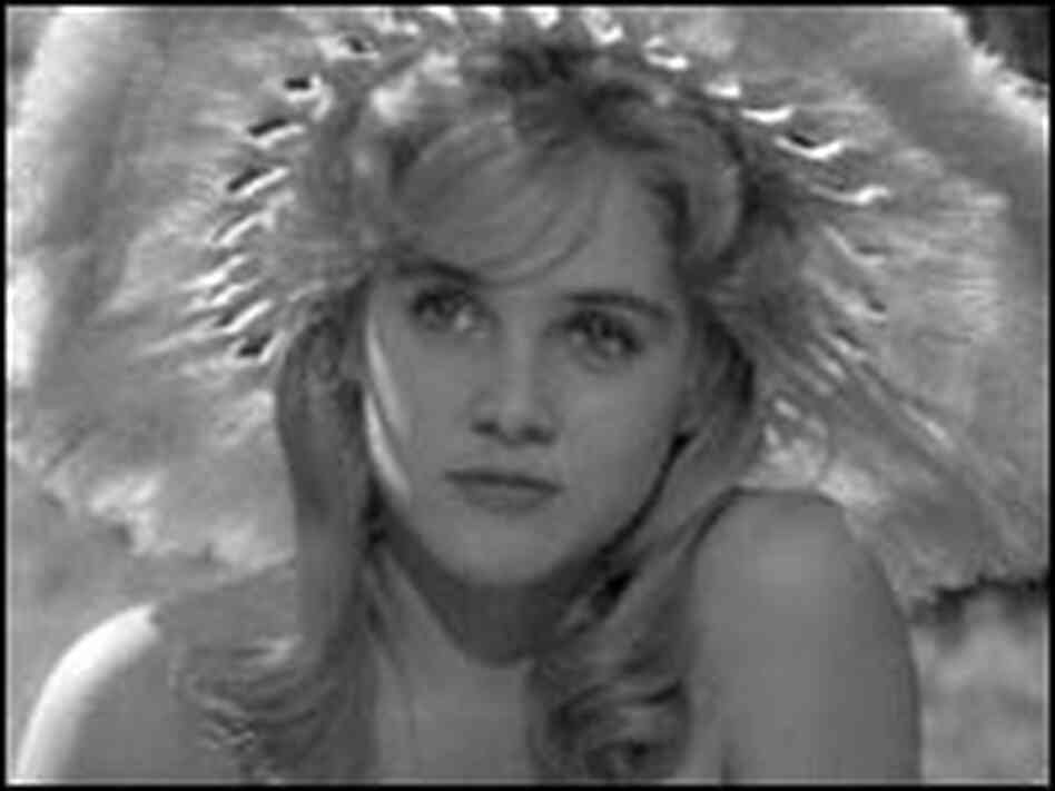 Sue Lyon as the title character in Stanley Kubrick's 1961 film version of 'Lolita'