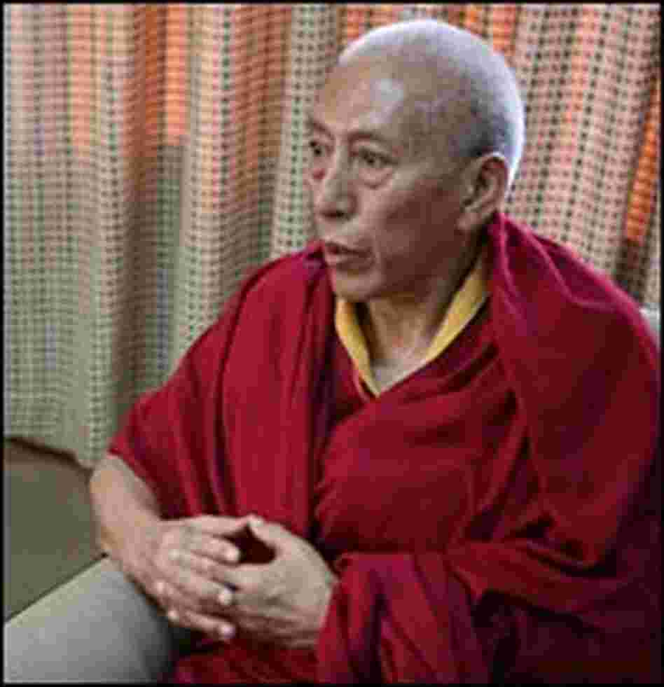 Samdhong Rinpoche, a religious scholar and close associate of the Dalai Lama