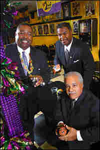 Ike Wheeler, Larry Hammond and Charles Hamilton (left to right) are Zulu's co-captions this year.