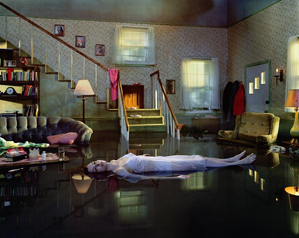 Gregory Crewdson/Luhring Augustine, New York  Untitled (Ophelia), 2001